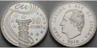 10 Euro 2010 Spanien EU - Präsidentschaft, inkl. Etui & Zertifikat & Sc... 64,80 EUR  +  17,00 EUR shipping