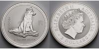 2 $,2 oz. 2006 Australien Jahr des Hundes / Chines.Tierkreiszeichen - 2... 279,00 EUR  +  17,00 EUR shipping