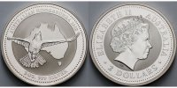 2 $,2 oz. 2002 Australien Kookaburra, keine originale Kapsel (runde Kap... 115,00 EUR  +  17,00 EUR shipping