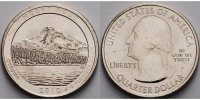 USA 1/4 $ 2010 P vz Mount Hood /P - Kupfer-Nickel - 2,00 EUR
