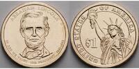 1 $ 2010 P USA Abraham Lincoln / Kupfer-Nickel, Philadelphia vz  3,50 EUR  + 7,00 EUR frais d'envoi