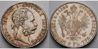 sterreich, Doppel Gulden Franz Josef I., 1848-1916