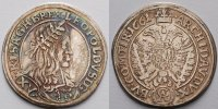 RDR sterreich 15 Kreuzer Leopold I 1657-1705, Wiener 15er