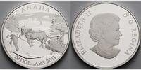 20 $ 2011 Kanada Winterlandschaft, inkl. Etui & Zertifikat & Schuber PP  76,80 EUR  Excl. 17,00 EUR Verzending