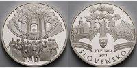 10 Euro 2011 Slowakei Memorandum, 150. Jahrestag der Verabschiedung, in... 44,80 EUR  + 17,00 EUR frais d'envoi