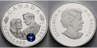 Kanada 20 $ 2011  PP Prince William &Catherine Middleton 2011,changieren... 92,95 EUR
