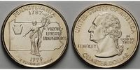 1/4 $ 1999 P USA Pennsylvania P - Kupfer-Nickel - vz  434 руб 6,00 EUR  +  796 руб shipping