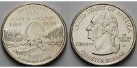 1/4 $ 2003 D USA Missouri D - Kupfer-Nickel - vz  366 руб 5,00 EUR  +  805 руб shipping