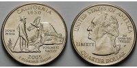 1/4 $ 2005 P USA California P - Kupfer-Nickel - vz  5,00 EUR  +  7,00 EUR shipping