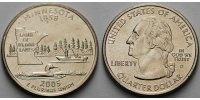 1/4 $ 2005 D USA Minnesota D - Kupfer-Nickel - vz  5.55 US$ 5,00 EUR  +  12.22 US$ shipping
