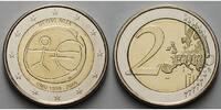 2 Euro 2009 Slowenien 10 Jahre Europäische Wirtschafts- u. Währungsunio... 4,50 EUR  + 7,00 EUR frais d'envoi