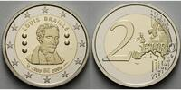 2 Euro 2009 Belgien 200. Geburtstag Louis Braille 1809 - 2009 stgl  5.00 US$ 4,50 EUR