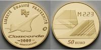 50 Euro, 7,78g fein22 mm Ø 2009 Frankreich 40 Jahre Concorde inkl. Etui... 448,00 EUR  +  17,00 EUR shipping