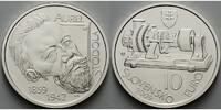 10 Euro 2009 Slowakei Aurel Stodola 1859 - 1942 - 150. Geburtstag, mit ... 24,50 EUR  excl. 7,00 EUR verzending