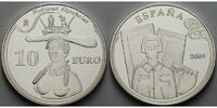 10 Euro 2009 Spanien 20.Todestag Dali - Frauenbüste inkl. Etui & Zertif... 65,00 EUR  excl. 17,00 EUR verzending