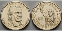 USA 1 $ 2009 P vz James K.Polk/ Kupfer-Nickel, Philadelphia 3,50 EUR
