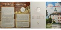10 Euro 2002 Österreich Schloss Ambras, ( Schlösser ) stglimBlister  39,80 EUR  +  17,00 EUR shipping