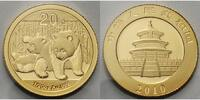 20 Yuan,1,55g fein 2010 China Panda-Bären, 1/20 oz, 999 Gold stgl  175.16 US$ 155,00 EUR  +  39.55 US$ shipping