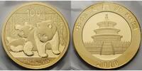 100 Yuan,7,78gfein 2010 China Panda-Bären, 1/4 oz, 999 Gold stgl  654.32 US$ 589,00 EUR  +  46.66 US$ shipping