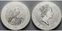Australien 2 $,<b>2 oz.</b> Kookaburra ,<b>der 2.Jahrgang von den 2 oz.-</b>