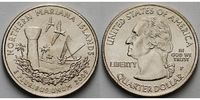 USA 1/4 $ 2009 P vz Northern Mariana Islands /P - Kupfer-Nickel - 4,00 EUR
