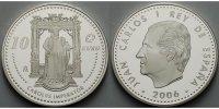 10 Euro 2006 Spanien Kaiser Karl V. / Europaprogramm PP  84,80 EUR  + 17,00 EUR frais d'envoi
