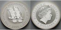 2 $,2 oz. 2006 Australien Kookaburra stgl  139,00 EUR  +  17,00 EUR shipping