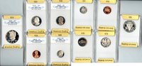 USA 1 cent - 50 cents USA, 1992S, Silver Complete Set, SGS certified Proof-70 Cameo