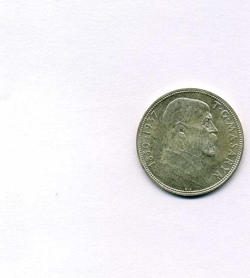 20 Korun 1937 Tschechoslowakei EF