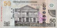 50 Gulden  Suriname Pick 160b unc/kassenfrisch  35,00 EUR  +  6,50 EUR shipping