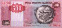 500 Kwanzas  Angola Pick 120a unc/kassenfr...