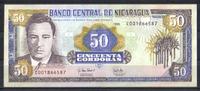50 Corbobas 1995 Nicaragua Pick 183 unc/ka...