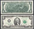 2 Dollars 1976 USA Pick 461-A unc/kassenfr...