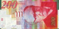 200 New Sheqalim 2010 Israel Pick 62d unc/kassenfrisch  80,00 EUR  zzgl. 4,50 EUR Versand