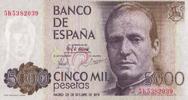5.000 Pesetas 23.10.1979 Spanien Pick 160 unc/kassenfrisch  115,00 EUR  zzgl. 4,50 EUR Versand