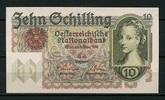 10 Schillings 02.2.1946 Österreich Pick 122 1-  180,00 EUR  +  6,50 EUR shipping