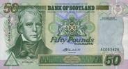 50 Pounds 24.9.2004 Bank of Scotland Pick ...