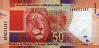 50 Rand (2012) Süd-Afrika Pick 135 unc/kassenfrisch  10,00 EUR  +  6,50 EUR shipping