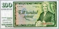 100 Kronur 29.3.1961 Island Pick 50a unc/kassenfrisch  6,00 EUR  +  6,50 EUR shipping