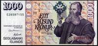 1.000 Kronur 22.5.2001 Island Pick 59 unc/kassenfrisch  15,50 EUR  +  6,50 EUR shipping