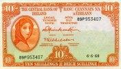 10 Schillings 06.6.1968 Irland-Repubilk Pick 63a 1-  80,00 EUR  zzgl. 4,50 EUR Versand