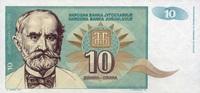 10 Dinara 1994 Jugoslawien Pick 138a unc/kassenfrisch  0,85 EUR  +  6,50 EUR shipping