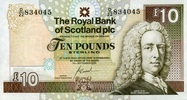 10 Pounds 19.9.2006 The Royal Bank of Scot...