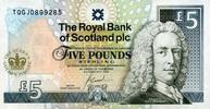 5 Pounds 06.2.2002 The Royal Bank of Scotland Pick 362 unc  35,00 EUR  +  6,50 EUR shipping