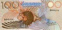 100 Rupees ND(1980) Seychellen Pick 27a unc  112.47 US$ 100,00 EUR  +  17.99 US$ shipping