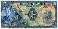1 Pesos Oro 20.7.1946 Kolumbien Pick 380e unc