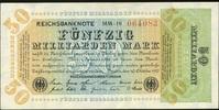5 Mrd. Mark 10.10.1923 Geldscheine der Inflation 1919-1924 Ros.117b MM ... 24,00 EUR  +  6,50 EUR shipping