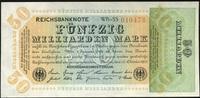 50 Mrd. Mark 10.10.1923 Geldscheine der Inflation 1919-1924 Ros.117b WB... 24,00 EUR  +  6,50 EUR shipping