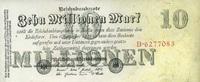 10 Mio. Mark 25.7.1923 Geldscheine der Inflation 1919-1924 Ros.95 unc/k... 13,00 EUR  +  6,50 EUR shipping