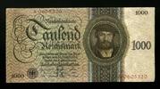 1.000 Reichsmark 11.10.1924 Deutsche Reichsbank Ros.172a 1-  388.01 US$ 345,00 EUR  +  17.99 US$ shipping